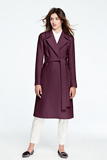 Le Trench Coat Long Stretch, Femme