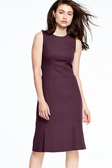 Women's Fluted Skirt Dress