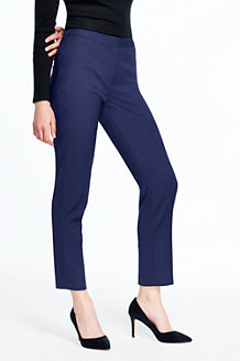 Knöchellange Slim Fit-Hose für Damen