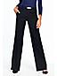 Le Pantalon Large en Laine Stretch Femme