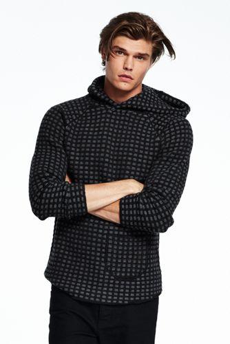 Men's Hooded Merino Sweater