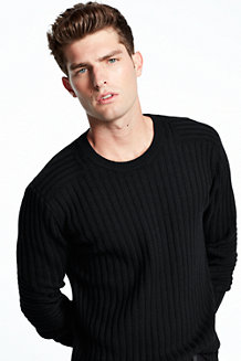 Men's Military Rib Sweater