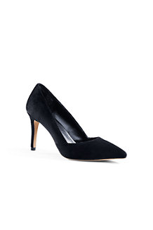 Women's Velvet Court Shoes