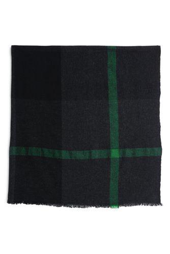 Quadratischer Woll-Schal für Herren