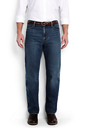Lands' End Men's Ringspun Traditional Fit Jeans