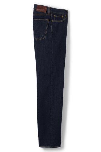 Vorgesäumte Regular Fit Denim-Jeans für Herren