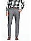 Men's Houndstooth Wool Suit Trousers