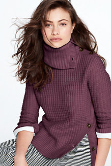 Women's Chunky Button Sweater