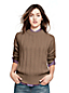 Rippstrick-Pullover im Merino-Kaschmir-Mix für Damen