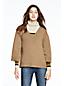 Kastiger Pullover mit V-Ausschnitt für Damen
