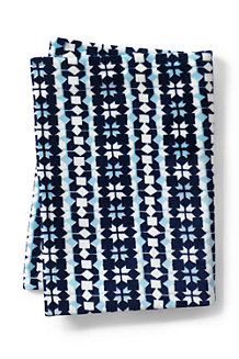 Gemusterte Plüschfleece-Decke