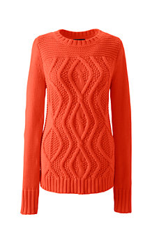 Women's Drifter™ Mix Cable Crew Neck Jumper
