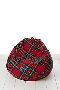 Junior Plaid Bean Bag Cover