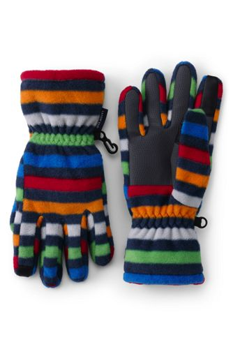 Boys' EZ Touch ThermaCheck®-200 Patterned Gloves