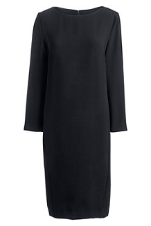 Women's Boatneck Cocoon Dress