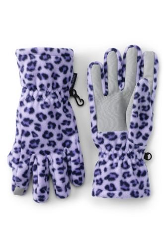 Girls' Fleece Touchscreen Gloves