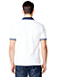 Men's Athleisure White Logo Polo