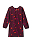 Little Girls' Print A-line Corduroy Dress