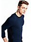 Men's Panel Cashmere Sweater