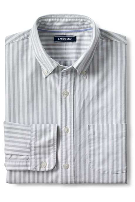 Men's Slim Fit Pattern Sail Rigger Oxford Shirt