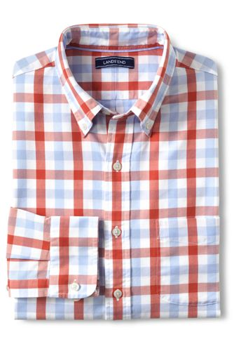 Men's Regular Traditional Fit Patterned Sail Rigger Oxford Shirt