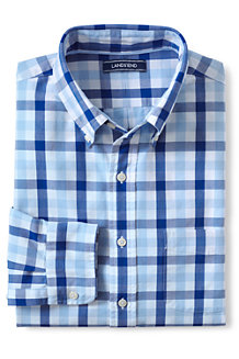 Men's Traditional Fit Patterned Sail Rigger Oxford Shirt