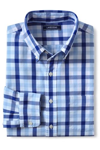 Men's Regular Tailored Fit Patterned Sail Rigger Oxford Shirt