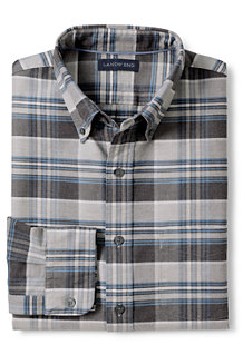 Men's Tailored Fit Patterned Sail Rigger Oxford Shirt