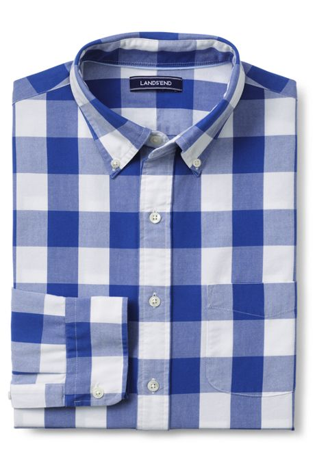 Men's Traditional Fit Buttondown Collar Sail Rigger Oxford Shirt