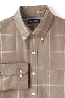 Gemustertes Heritage Oxfordhemd für Herren, Classic Fit