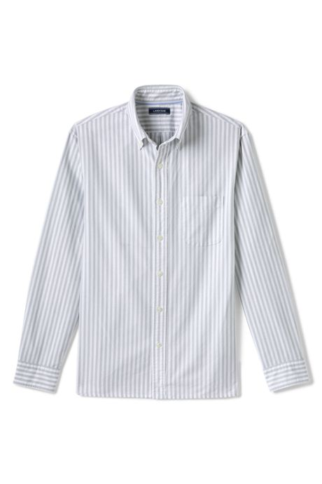 Men's Big and Tall Traditional Fit Buttondown Collar Sail Rigger Oxford Shirt