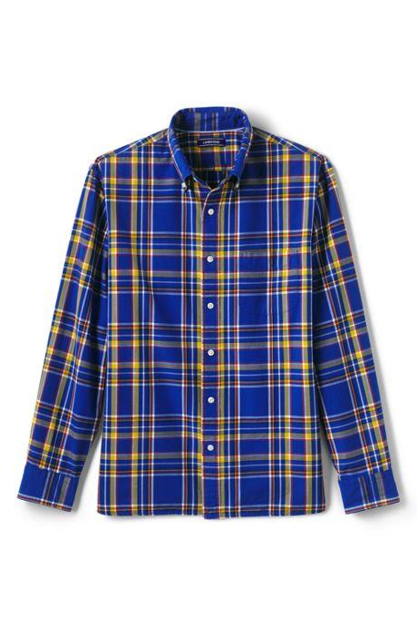 Men's Traditional Fit Buttondown Collar Sail Rigger Oxford Shirt