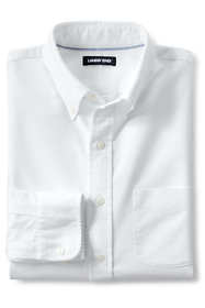 Men's Big and Tall Traditional Fit Buttondown Solid Sail Rigger Oxford Shirt