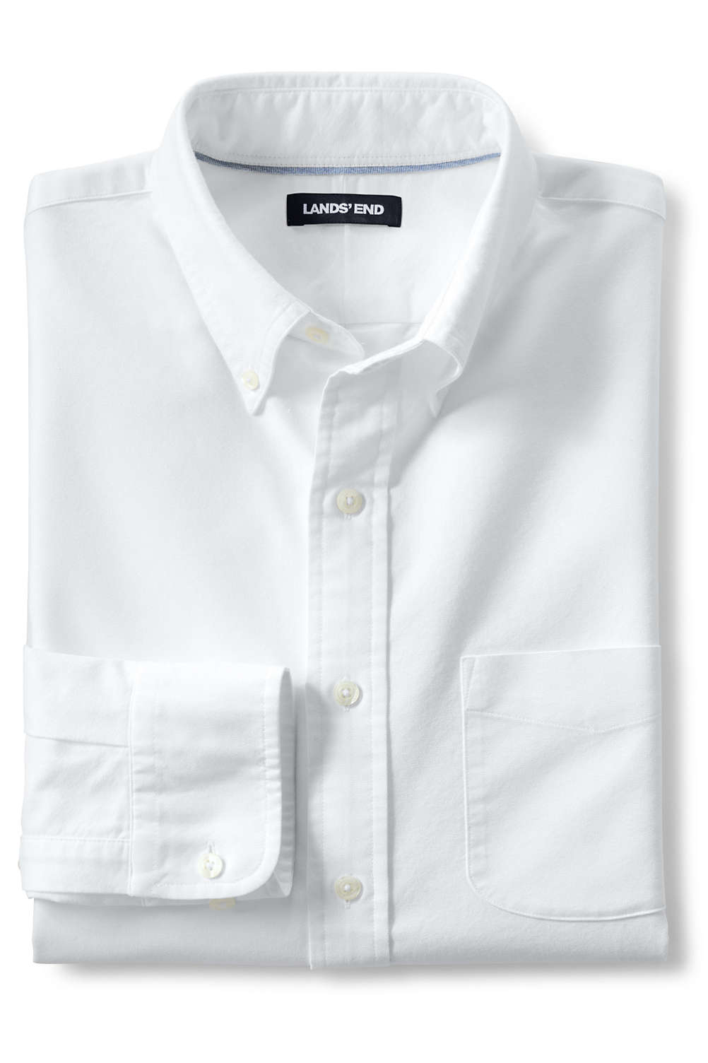 11f138dbc43b Men's Traditional Fit Buttondown Solid Sail Rigger Oxford Shirt. 4.1. Rated  4.06 out of ...