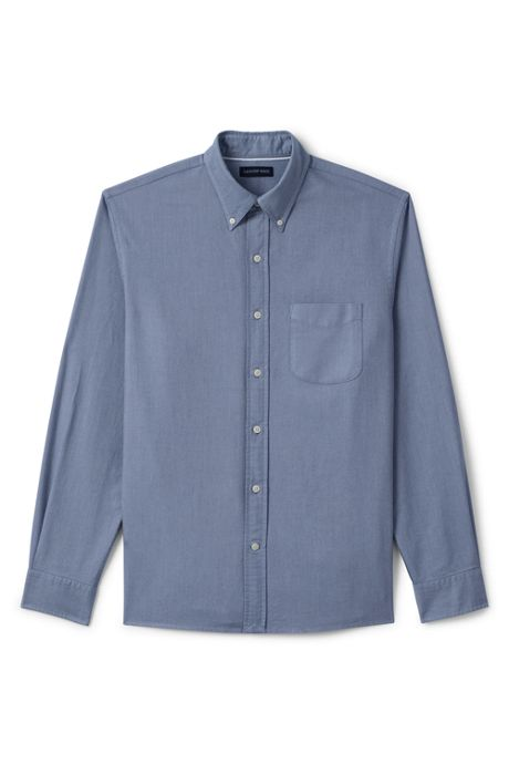 Men's Slim Fit Buttondown Solid Sail Rigger Oxford Shirt