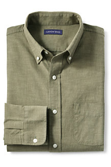 Men's Traditional Fit Chambray Shirt
