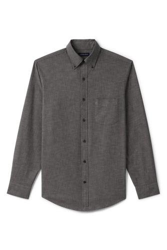 Men's Regular Traditional Fit Chambray Shirt