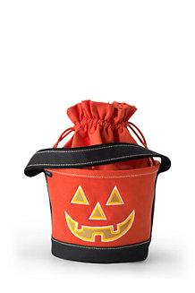 Glow-in-the-Dark Halloween-Korb für Kinder
