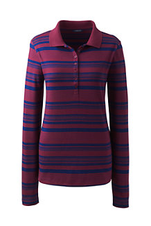 Women's Stripe Pima Polo