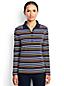 Pima-Poloshirt Gestreift mit langen Ärmeln