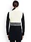 Le Gilet Cascade Sans Manches Blocs de Couleurs, Femme Stature Standard