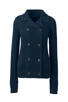 Women's Lofty Cotton Double Breasted Shaker Jacket