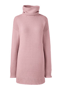 Women's Lofty Cotton Rollneck Tunic