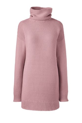 Women's Regular Lofty Cotton Rollneck Tunic