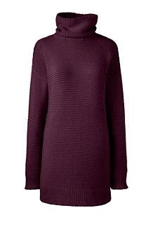 Women's Lofty Cotton Rollneck Tunic