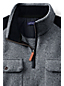 Men's Regular Sweater Fleece Zip-neck Pullover