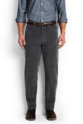 Lands' End Men's Comfort Waist 14-Wale 5-Pocket Corduroy Pants