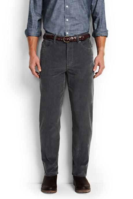 Men's Comfort Waist 14-Wale 5-Pocket Corduroy Pants