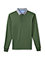 Men's Regular Long Sleeve Woven Collar Supima® Polo
