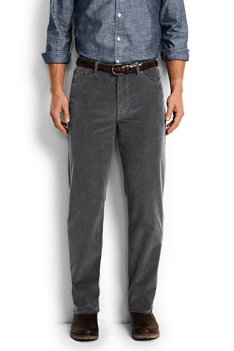 Men's Traditional Fit 14-wale Corduroy Pants from Lands' End